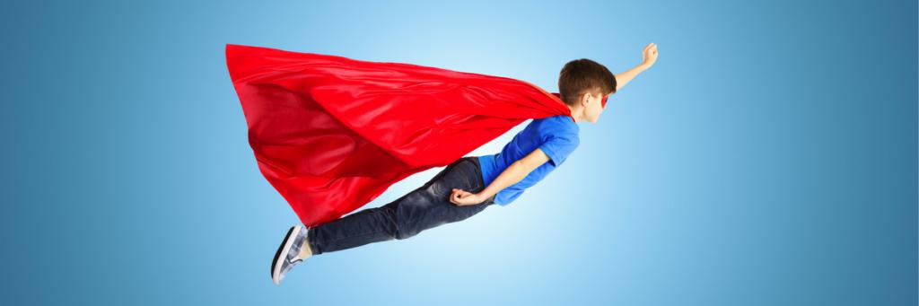 Citotraining en iep-toets training van Meester Michel geeft zelfvertrouwen_super held